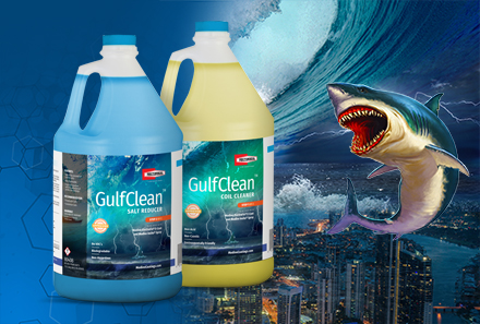 Modine® and RectorSeal ® Introduce GulfClean™ Two-Step Coil Cleaner and Salt Reducer