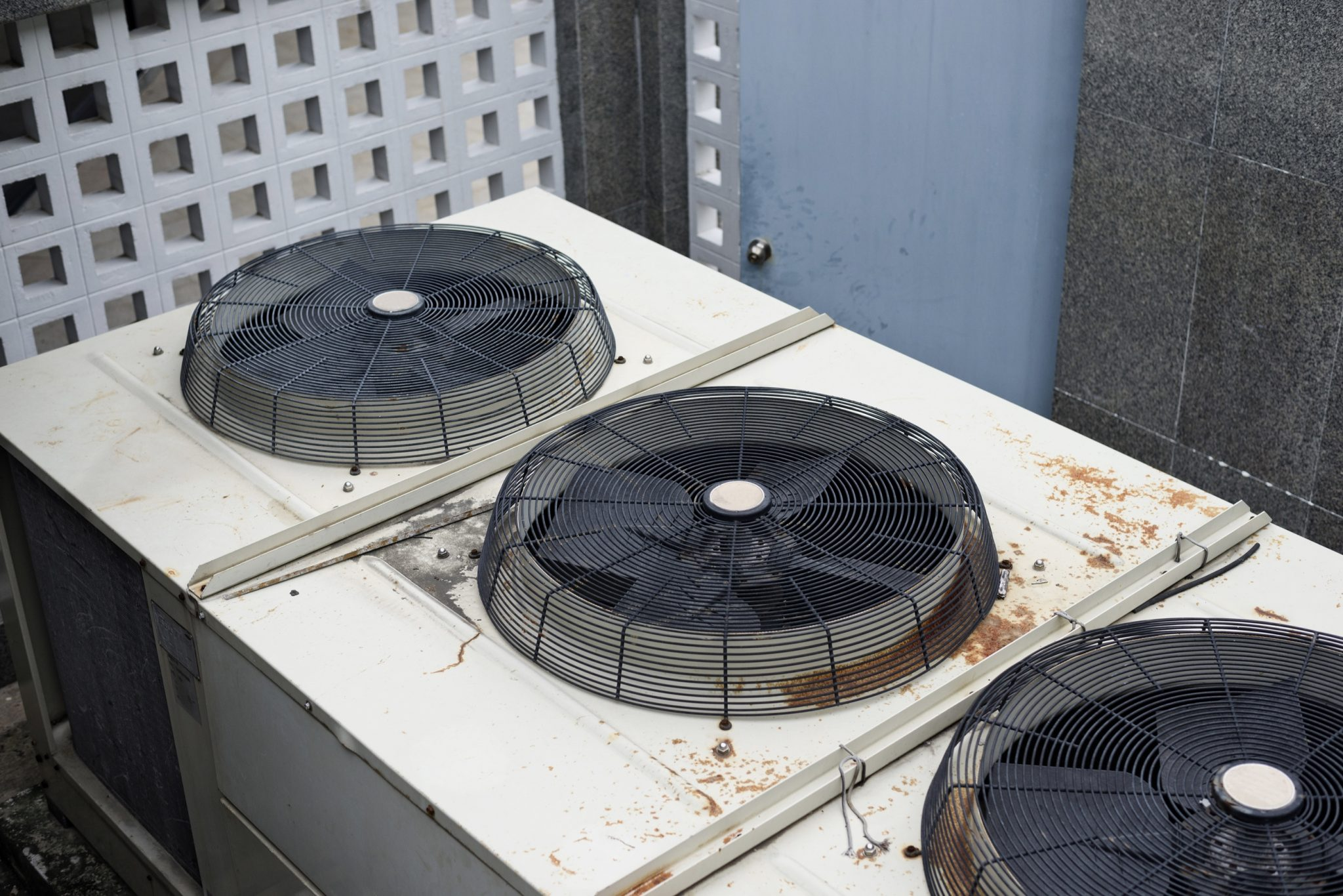 rooftop ac fans